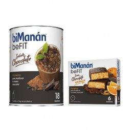Bimanan beFIT Batido Chocolate 18 batidos 540g