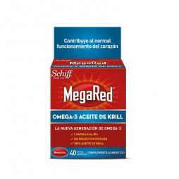Megared Omega3 Aceite De Krill 30+10 Capsulas