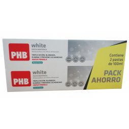 Phb White Duplo Pasta 2x100ml