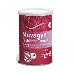 Muvagyn Probiótico Tampón Regular Con Aplicador 9