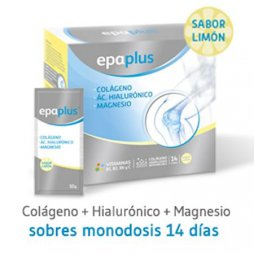 Epaplus Colageno + Hialuronico + Magnesio 14Sobres
