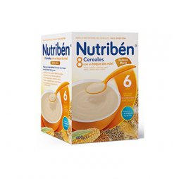 Nutriben Papilla 8 Cereales Miel G.Maria 600g