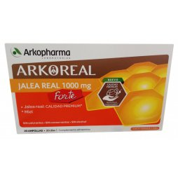 Jalea Real 1000mg Forte 20 Ampollas