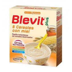 Blevit Plus 8 Cereales/Miel 600g
