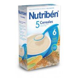 Nutriben Papilla 5 Cereales 300g