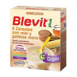 Blevit Plus 8 Cereales, Miel y Galletas 600g