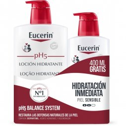 Eucerin Locion 1 L.+Ecopack