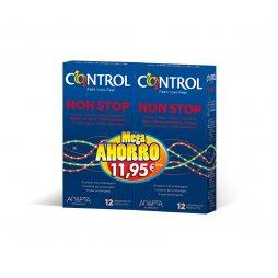 Control Non Stop Pack 12+12 Mega Ahorro