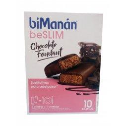 Bimanan Barritas Chocolate Negro 8uds