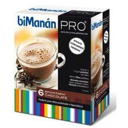 Bimanan Pro Batidos Chocolate 6uds