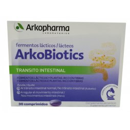 Arkobiotics Transito Intestinal 30 Comprimidos