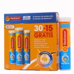 Redoxon Promo Doble Accion 30+15 Gratis