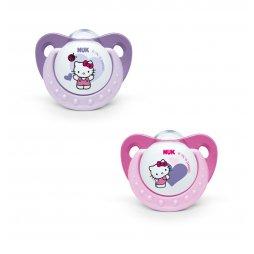 Nuk Chupete Hello Kitty T2 Silicona 2 Ud