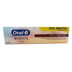 Oral-B 3D White luxe Brillo Seductor