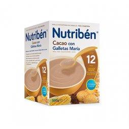 Nutriben Papilla Cacao Galleta María 500g