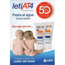 Leti At4 Pasta al Agua 2 X 75gr