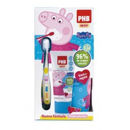 Phb Petit Peppa Gel 75ml + Cepillo + Regalo
