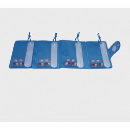 Pastillero Plegable 4 Compartimentos
