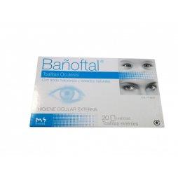 Bañoftal Toallitas Oculares