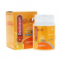 Redoxon Go Naranja 30 Comprimidos Masticables Sin Agua