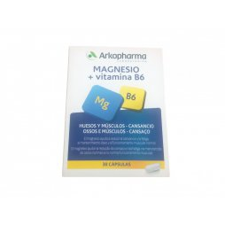 Arkovital Magnesio  Vitamina B6  30 Capsulas