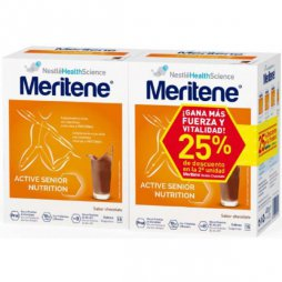 Meritene Pack Senior Chocolate 2X15 Sobres