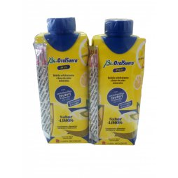 Bioralsuero Plus Pack 2X330ml Limón