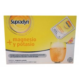 Supradyn Magnesio - Potasio Naranja 14 Sobres