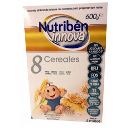 Nutriben Papilla 8 Cereales 600gr Innova