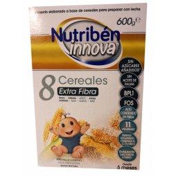 Nutriben Papilla 8 Cereales 600gr Innova Exta fibra