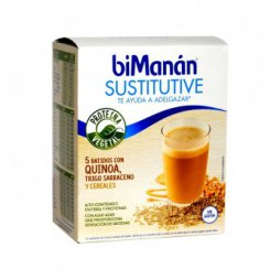 Bimanan Batido Vegetal Cereales 5 Sobres