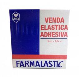 Venda Elástica Adhesiva 5cm x 4,5mm