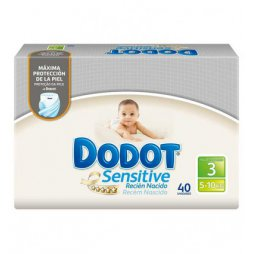 Dodot Sensitive T3 5-10 Kg 40uds