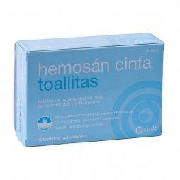 Hemosan 12 Toallitas Cinfa