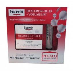 Eucerin Hyaluron-Filler +Volume Lift Dia Piel seca+Contorno