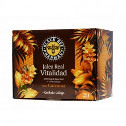 Black Bee Vitalidad Jalea Real 20 Ampollas