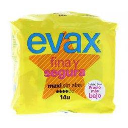 Evax Fina y Segura Maxi 14uds