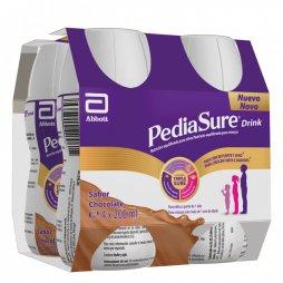 Pediasure Drink Chocolate 4 x 200ml