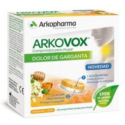 Arkovox Dolor de Garganta 20 Comp