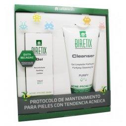 Biretix Pack Gel 50ml + Gel Limpiador 150ml