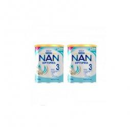 Nestle Nan 3 Optipro Pack 2x800gr 2ªud 25%