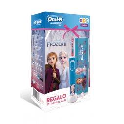 Oral B Cepillo Eléctrico Frozen  II + Estuche Viaje