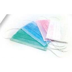 Mascarilla higiénica nacional 3 capas azul 10ud