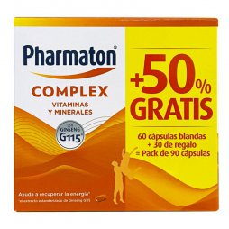 Pharmaton Complex 40Mg 60+30Cap