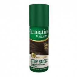Farmatint Spray Cubre Raíces Castaño Claro 75ml