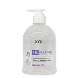 Gel Hidroalcohólico con Aloe Vera Dosificador 500ml