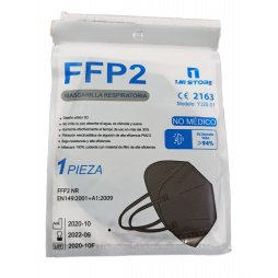 Mascarilla FFP2 Adulto Negra