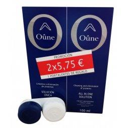 Solución Única Oune 2x100ml + Portalentes