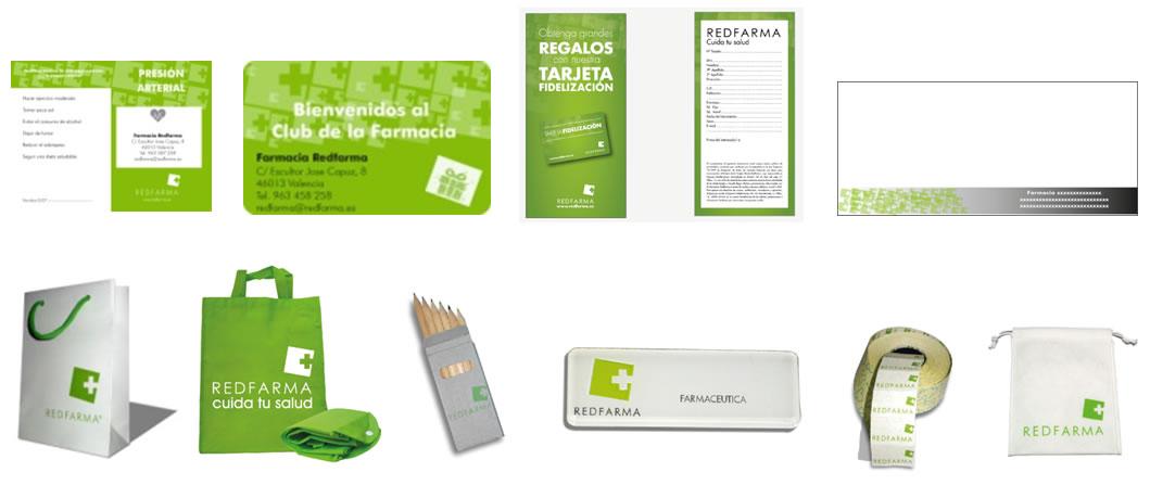 Merchandising Redfarma